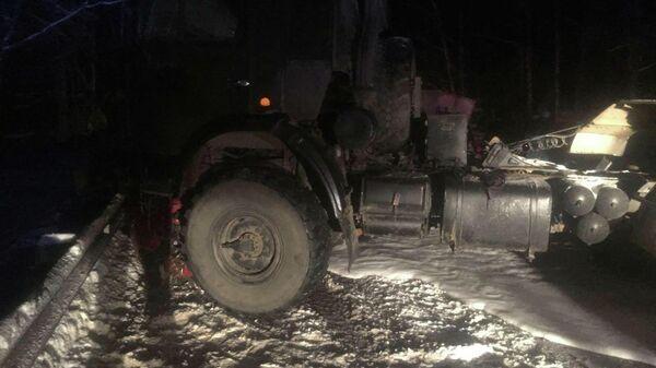 В Фурмановском районе Ивановской области произошло ДТП с участием четырех транспортных средств. 6 февраля 2020