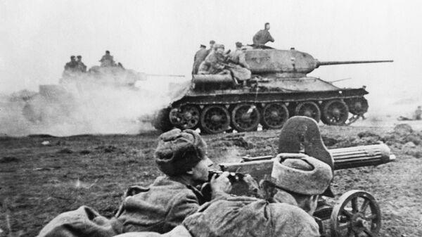 Великая Отечественная война 1941-1945 годов. Бой на подступах к Будапешту