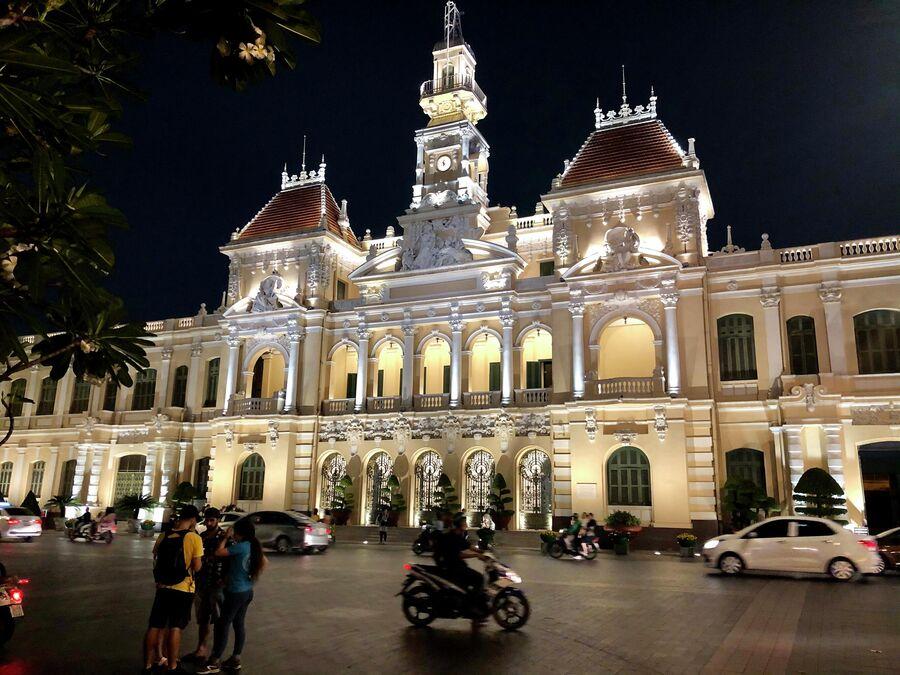 Здание народного комитета, Хошимин, Вьетнам