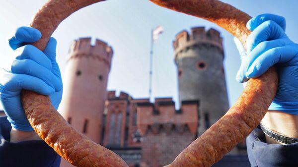 День длинной колбасы в Калининграде