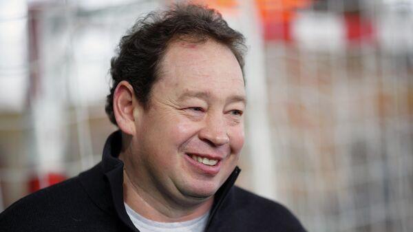 Главный тренер Рубина Леонид Слуцкий