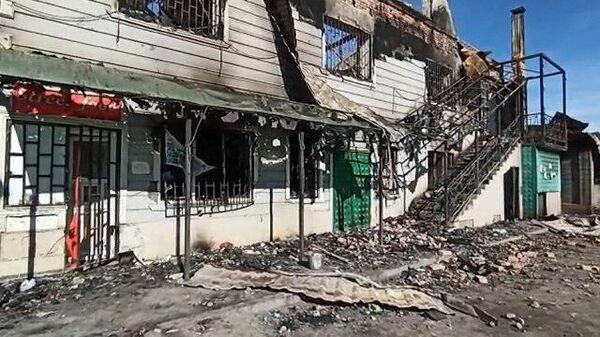 Массовая драка в Казахстане закончилась кровью и пожарами
