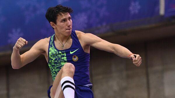 Российский легкоатлет Тимур Моргунов
