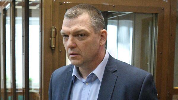 Экс-владелец фабрики Меньшевик Илья Аверьянов в суде. 10 февраля 2020