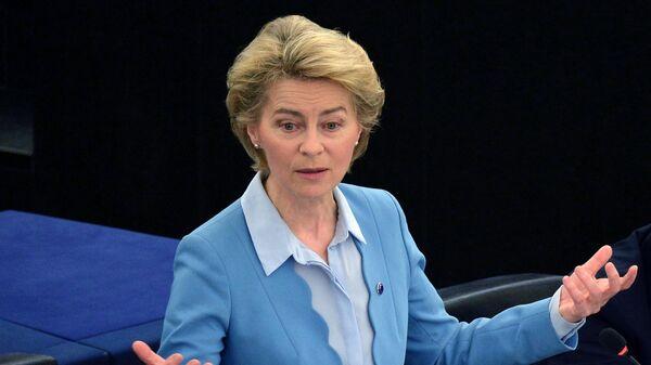 Председатель Европейской комиссии Урсула фон дер Ляйен