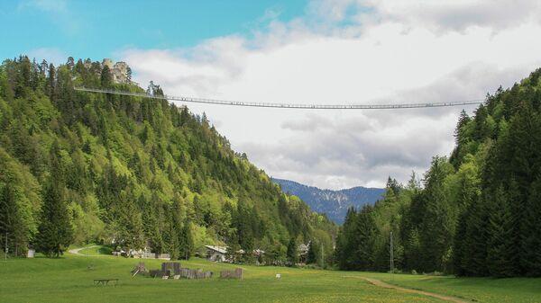 Пешеходный мост Highline в Австрии