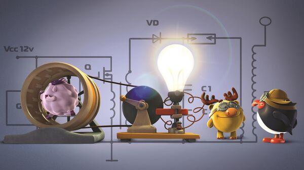 Кадр из анимационного сериала ПинКод