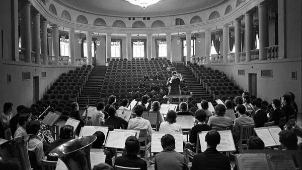 Экзамен в государственном музыкальном училище имени Гнесиных