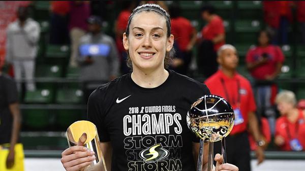 Американская баскетболистка Брианна Стюарт