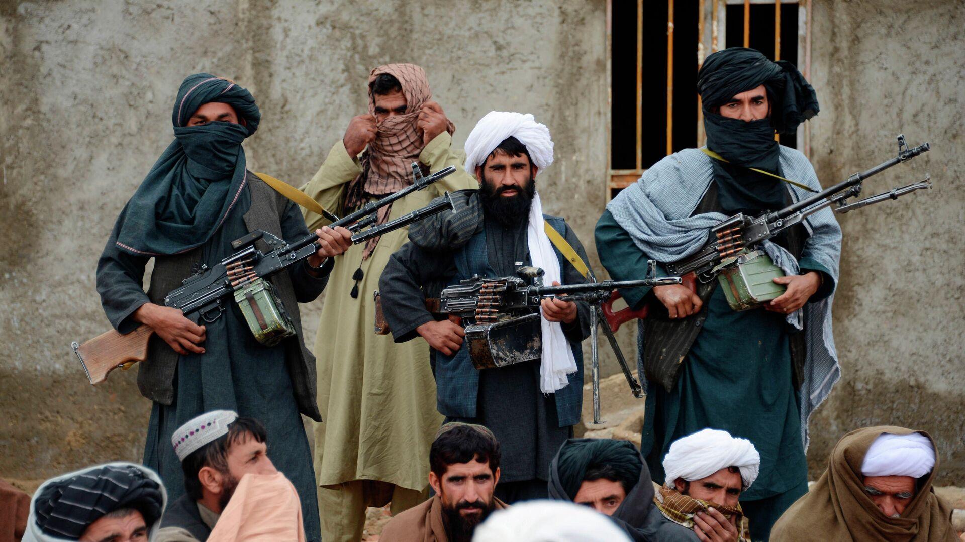 Боевики радикального движения Талибан в Афганистане - РИА Новости, 1920, 10.09.2020