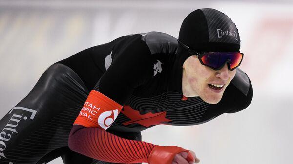 Канадский конькобежец Грэми Фиш