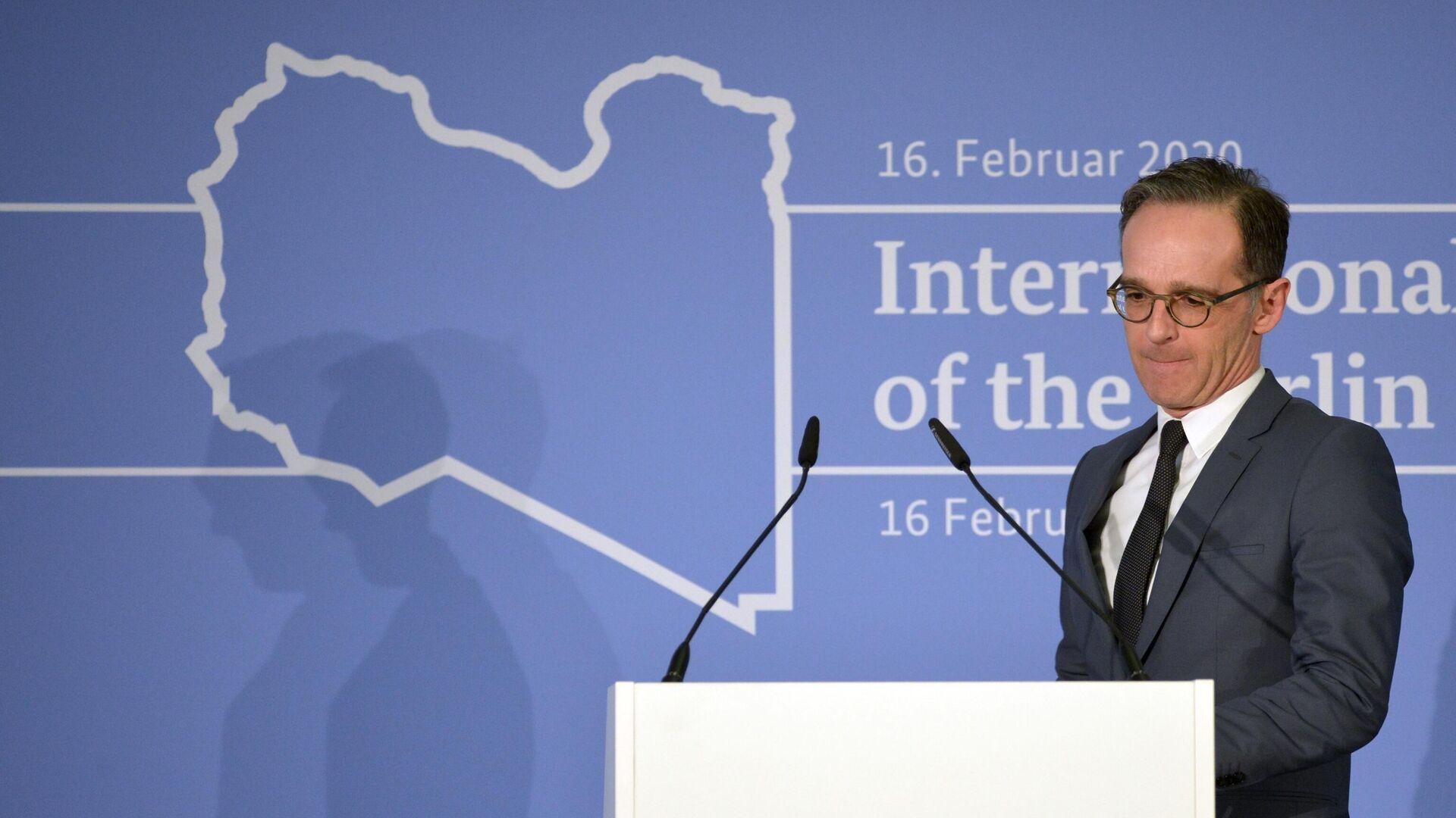 Министр иностранных дел Германии Хайко Маас на Мюнхенской конференции по безопасности - РИА Новости, 1920, 15.09.2020