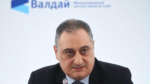 Заместитель министра иностранных дел РФ Игорь Моргулов на IX Ближневосточной конференции Международного дискуссионного клуба Валдай в Москве