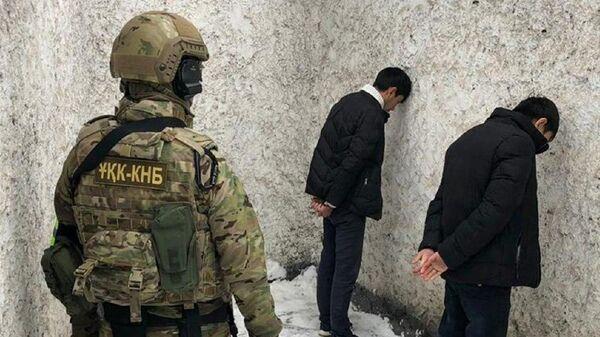 Задержание экстремистов в Алма-Ате