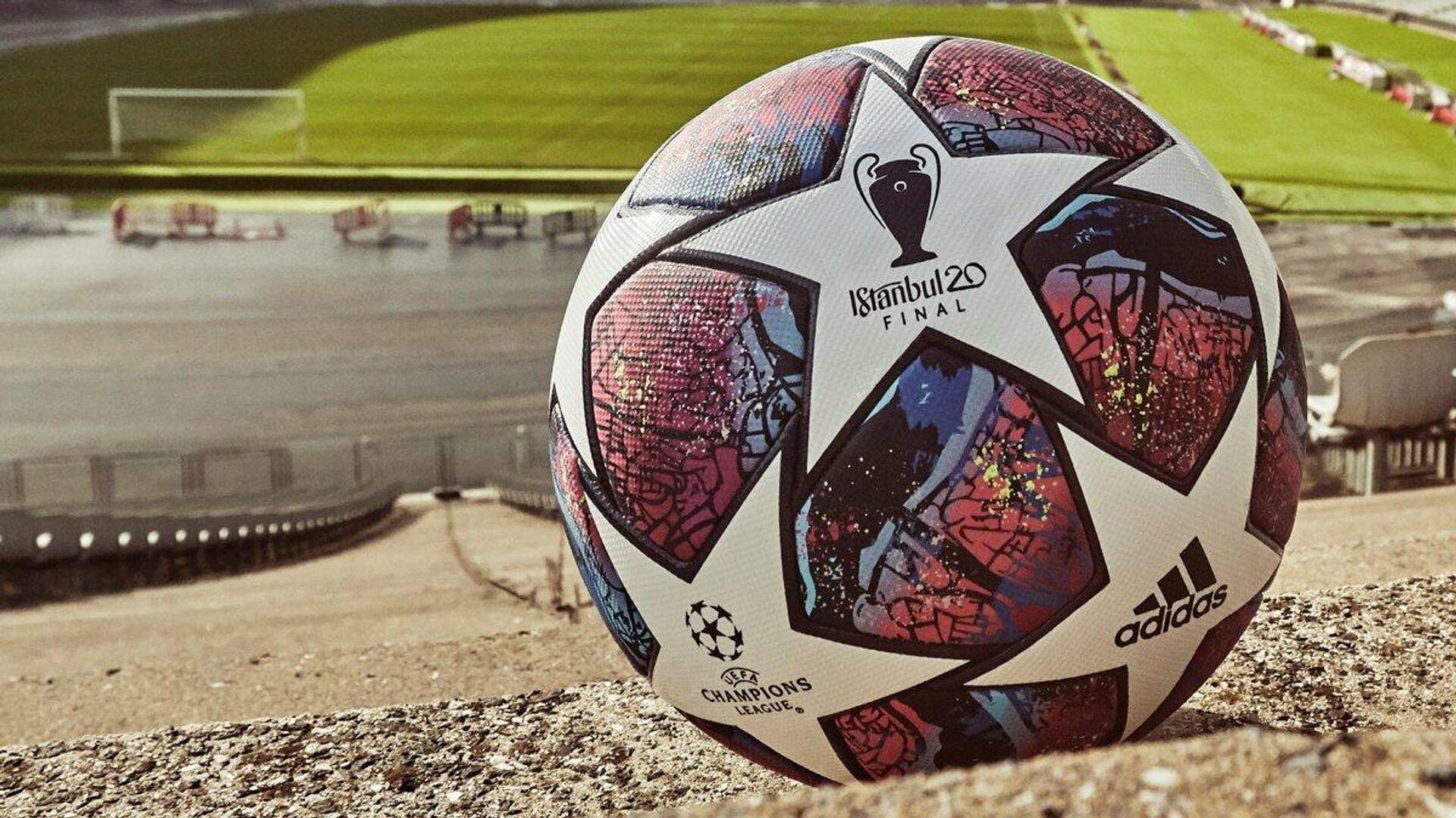 Официальный мяч финала Лиги чемпионов сезона-2019/20 - РИА Новости, 1920, 07.05.2021