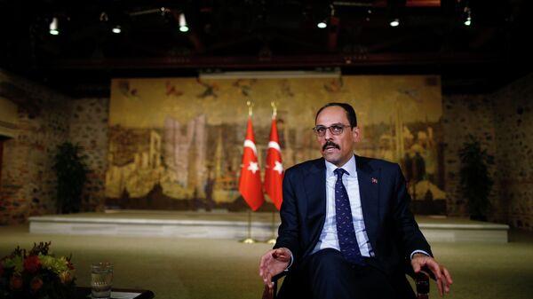 Пресс-секретарь президента Турции Эрдогана Ибрагим Калын