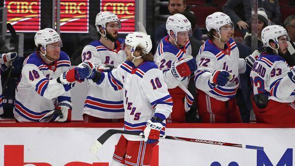 Нападающий клуба НХЛ Нью-Йорк Рейнджерс Артемий Панарин
