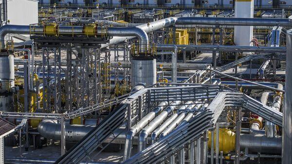 Дожимная компрессорная станция Харампурского месторождении ООО РН-Пурнефтегаз
