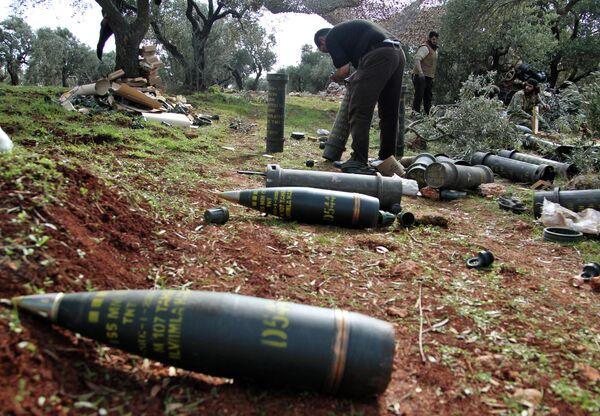 Боевики, поддерживаемые Турцией, готовятся к стрельбе в провинции Нейраб, Идлиб