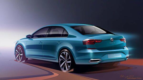 Volkswagen представил новый Polo для России