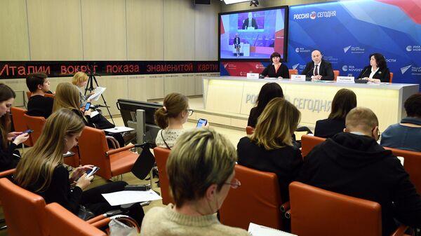 Пресс-конференция Старт кампаний ЕГЭ и ОГЭ 2020 года и всероссийских проверочных работ