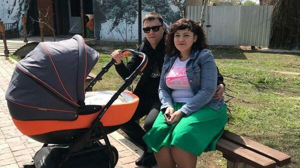 Ирина Васильева с мужем и дочкой