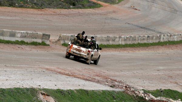 Боевики в Идлибе