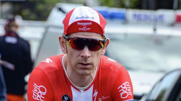 Датский велогонщик Михаэл Меркев
