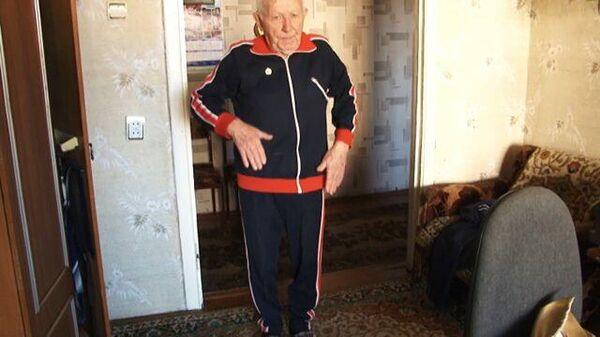 Возраст не помеха: 99-летний ветеран сдал нормы ГТО на золотой значок