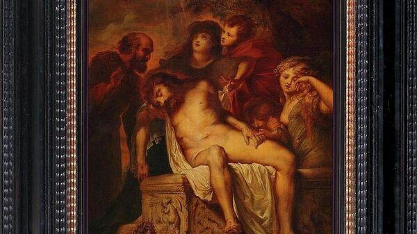 Питер Пауль Рубенс. Оплакивание Христа. Положение во гроб. 1601