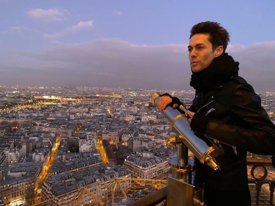 Марк Тишман в Париже