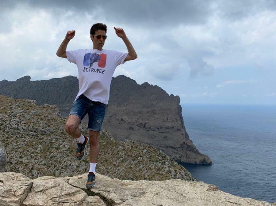 Марк Тишман на острове Майорка
