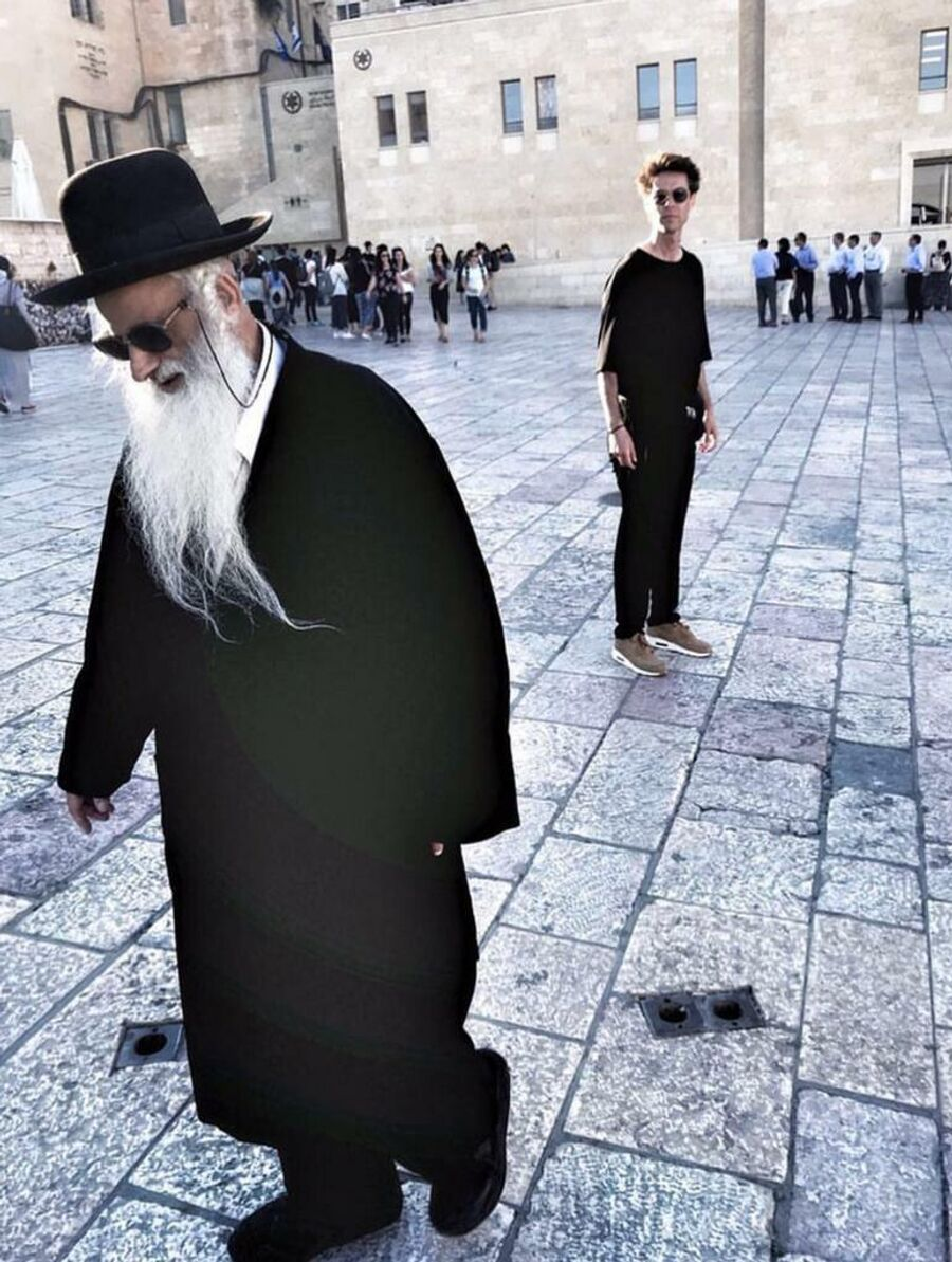 Марк Тишман в Иерусалиме