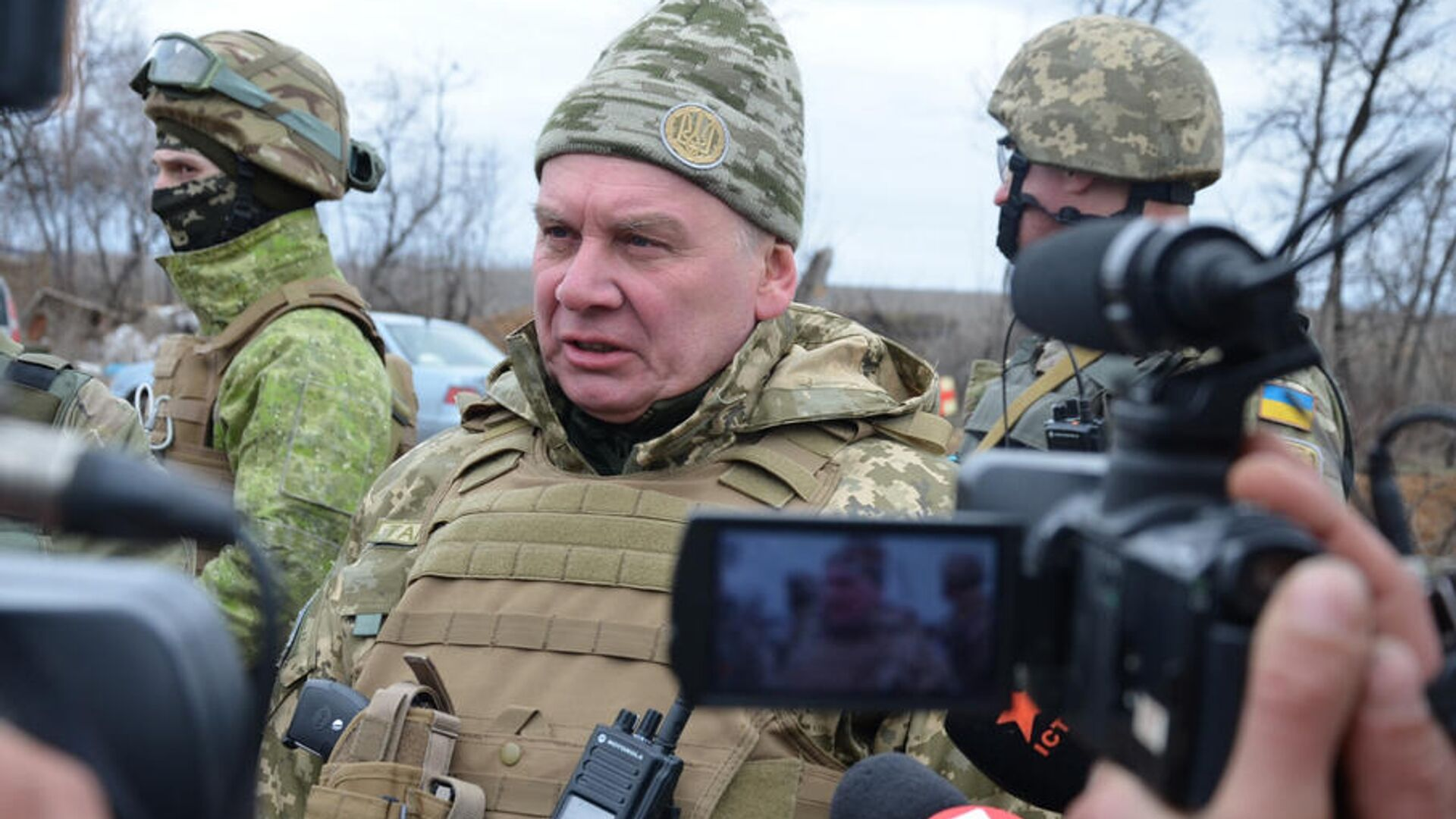 Генерал-лейтенант Вооруженных сил Украины в отставке Андрей Васильевич Таран - РИА Новости, 1920, 05.12.2020