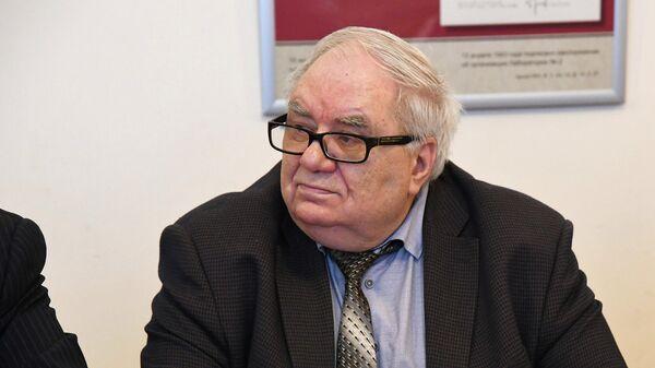 Ведущий эксперт зала славы СВР России Владимир Антонов