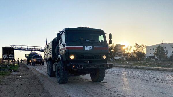 Патруль российской военной полиции
