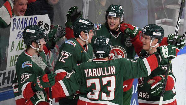 Хоккеисты казанского Ак Барса