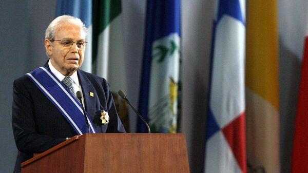 Бывший Генеральный секретарь ООН Хавьер Перес де Куэльяр