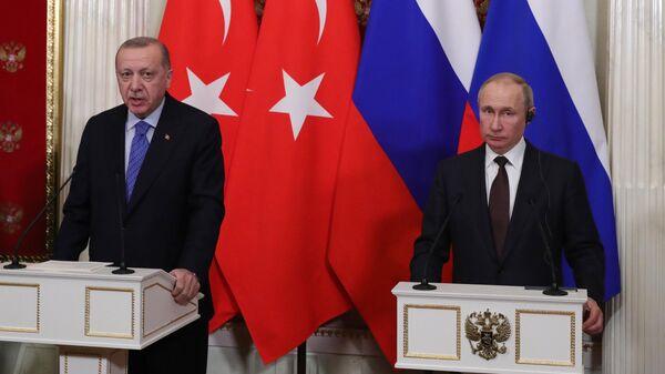 Пушков прокомментировал итоги встречи Путина и Эрдогана