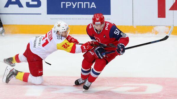 Хоккей. КХЛ. Матч Локомотив - Йокерит