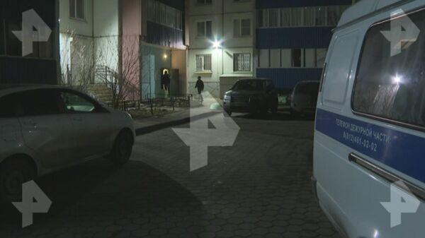 Видео с места убийства подростка в Петербурге