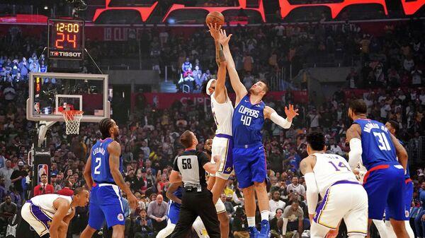 Матч НБА Лос-Анджелес Лейкерс - Лос-Анджелес Клипперс