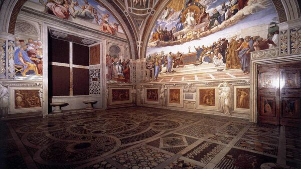 Фреска Рафаэля в Ватикане