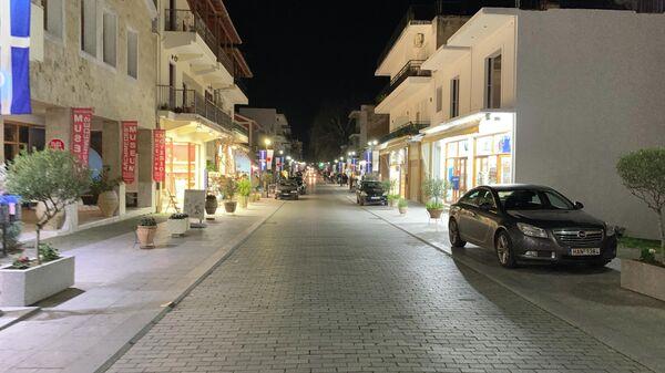 На улицах Древней Олимпии