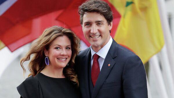Премьер-министр Канады Джастин Трюдо и его жена Софи Грегуар-Трюдо