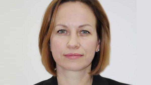 Министр социальной политики Украины Марина Лазебная