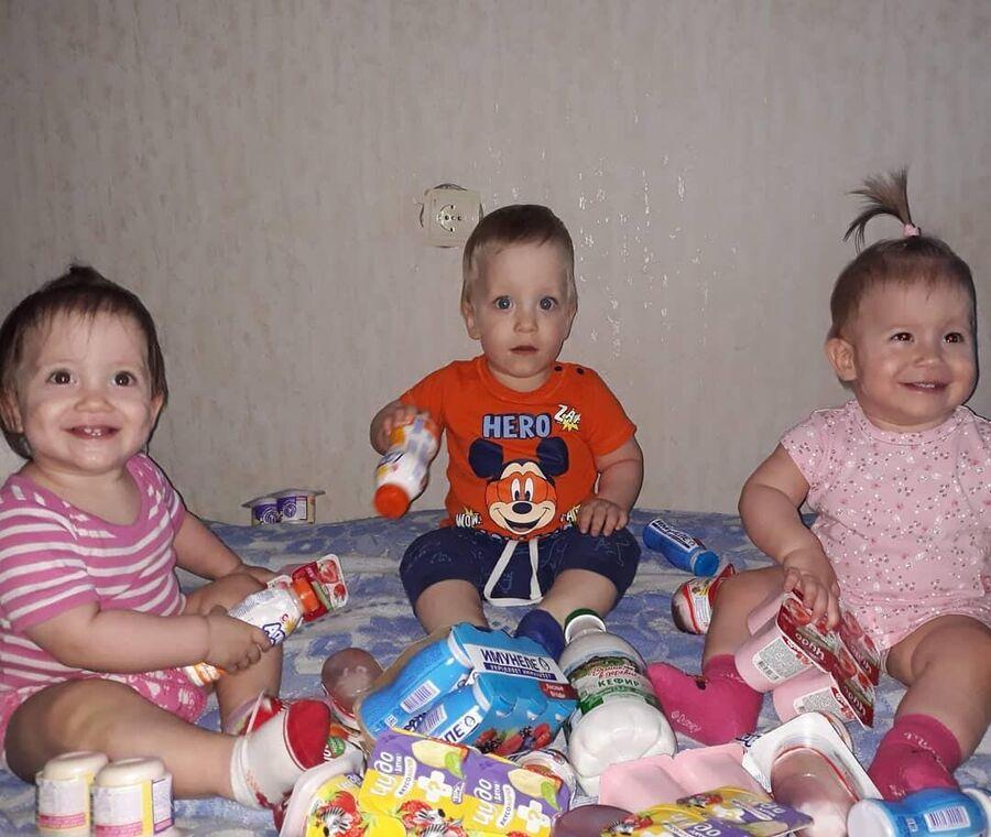 Дети Натальи Стороженко