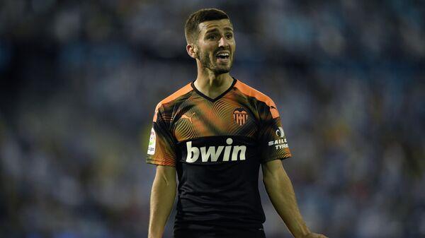 Защитник ФК Валенсия Хосе Гайя