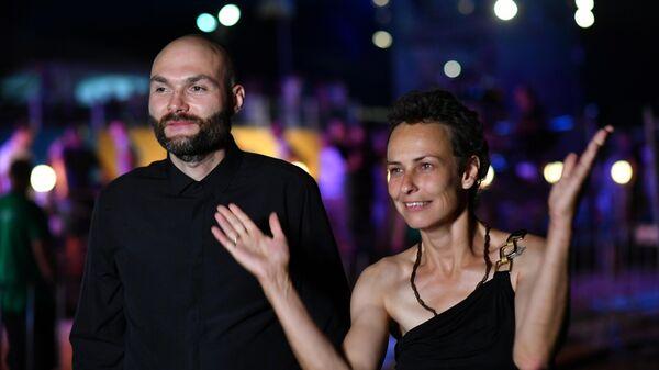 Певица Юлия Чичерина и джазовый музыкант, основатель оркестра SG BIG BAND Сергей Головня