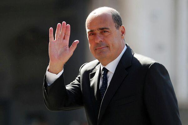 Лидер Демократической партии Италии Никола Зингаретти